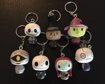 Mini Keychains - Nightmare before Christmas