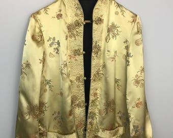 Oriental Reversible Blazer Jacket