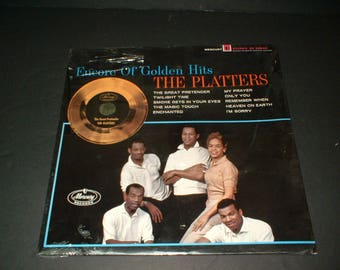 Mint New Sealed Original Encore of Golden Hits The Platters Mercury SR 60243 Record Album