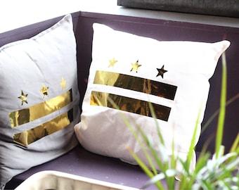 Washington DC pillow cover
