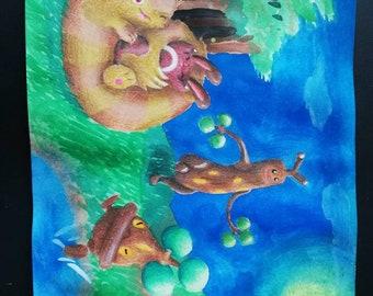 Pokémon drawing, Pokemon Zeichnung