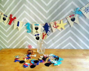 Nautical Hipster Party Kit