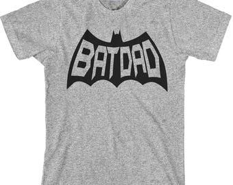 Dad Shirt, Batdad T Shirt, Batdad Shirt, Father's Day Gift, Father's Day Shirt, Father's Day, Batdad, Dad T Shirt - Item 3630 - Black Ink