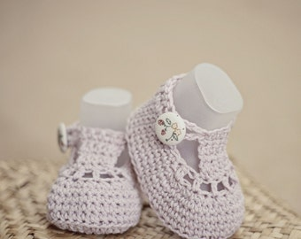 Crochet PATTERN - Charlotte Booties