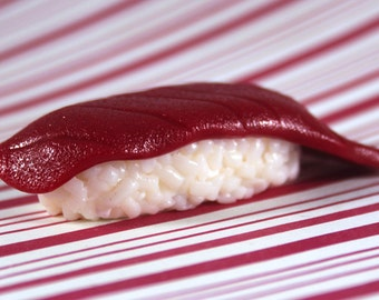 tuna sushi magnet kawaii polymer clay charms miniature food jewelry polymer clay food magnet japanese magnet japan magnet japanese food