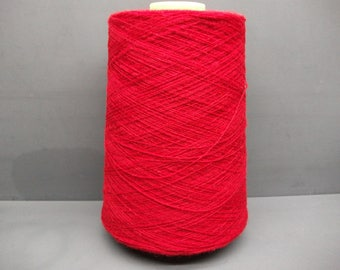 Shetland Yarn 100% Wool 180g Cone 1/9's NM - 2ply Queen of Hearts
