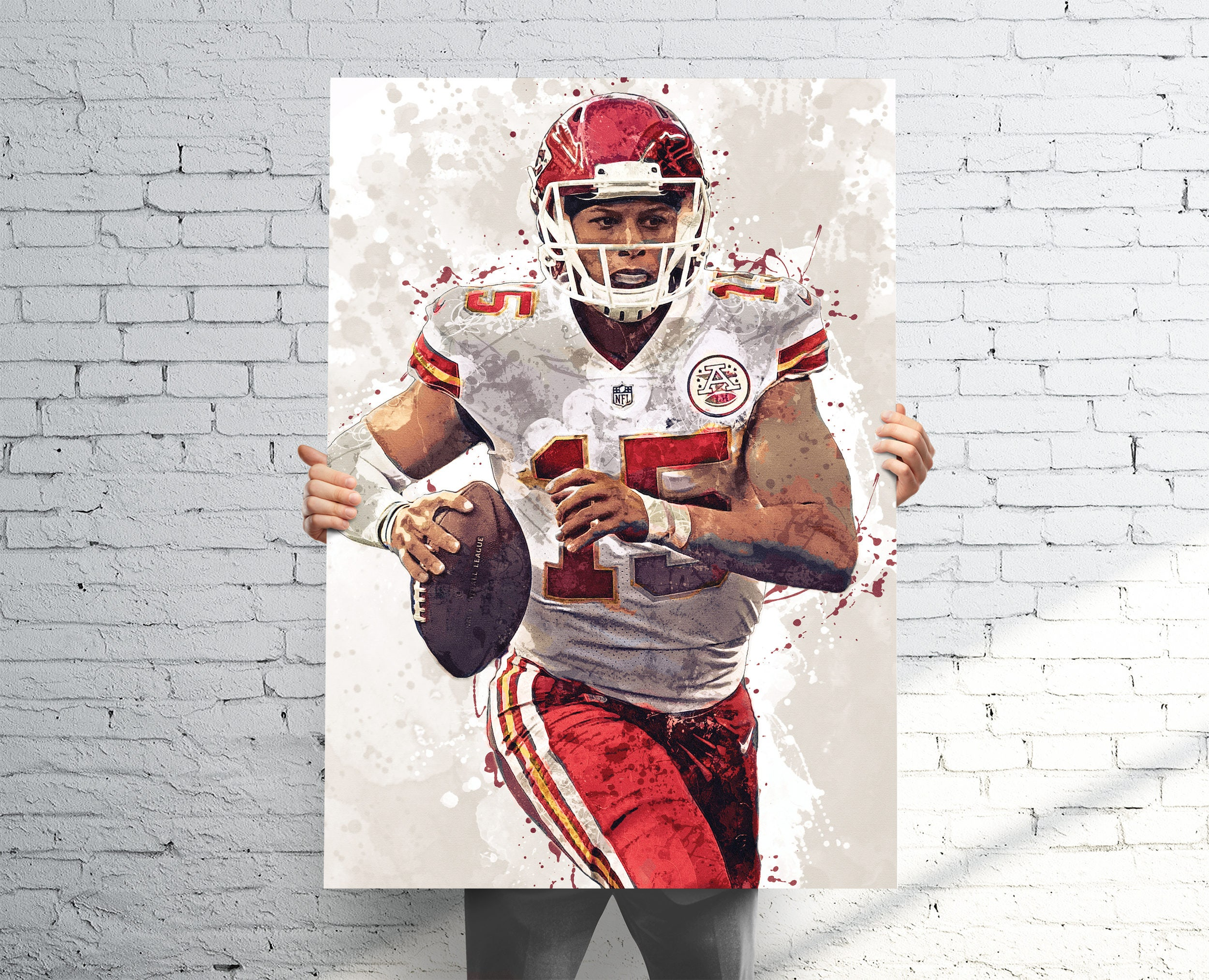 Patrick Mahomes II Kansas City Chiefs Sports Art Print