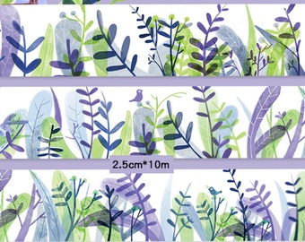 1 Roll Limited Edition Washi Tape: Monet's Garden