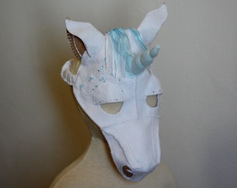 Unicorn Mask PDF Pattern