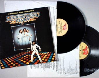 Saturday Night Fever (1977) Vinyl LP Soundtrack  Bee Gees, Disco Inferno