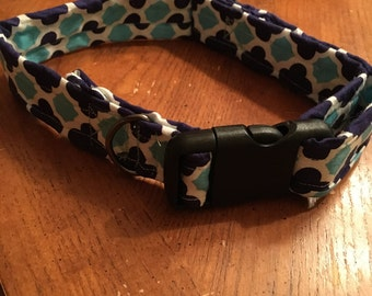 Handmade large dog collar