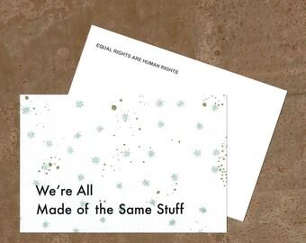 Equality Matters - Activist Postcard