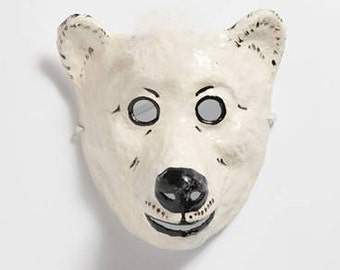 Bear paper mask