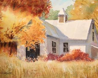 Fall & Barn
