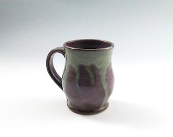 Handmade Purple Pottery Ceramic Coffee Mug,stoneware pottery mug,Ready to Ship, Pottery Mug, Ceramic Mug,Purple Ceramic Mug,Purple Tea Mug
