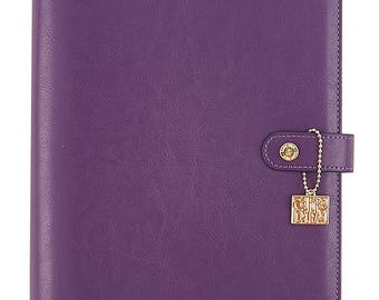 Carpe Diem - Grape A5 Planner - binder only