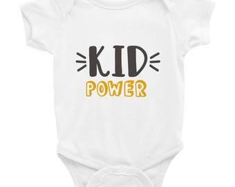 Kid Power Onesie Bodysuit