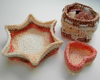 Crochet Basket PDF Pattern DYI Basket, Mother's Day Gift