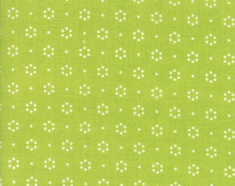 Sale! Dot in green, BACKING, The Good Life by Bonnie and Camille for Moda 55152 14