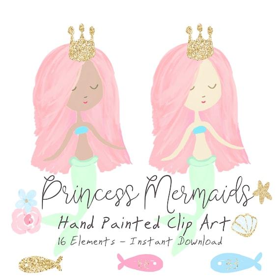 Mermaid Clipart For Kids