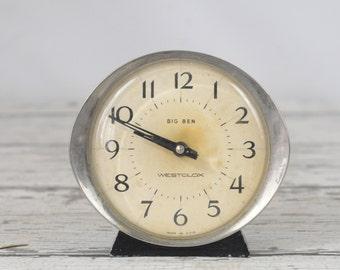 Vintage Clock 1950's Big Ben Westclox  Alarm Clock