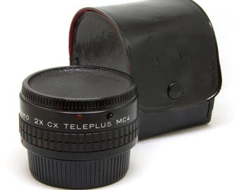 Kenko 2X CX Teleplus MC4 - 2X Teleconverter for Contax/Yashica Mount Photography
