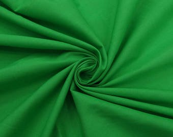 """Indian Decor, Green Fabric, Apparel Fabric, Home Decor, Sewing Crafts Fabric, 40"""" Cotton Fabric By The Yard PZBC12E"""