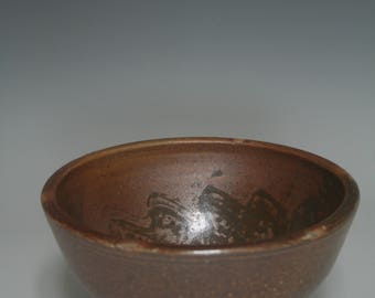Wood fired cereal bowl