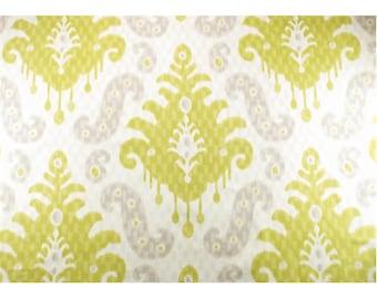 Green/Multi P/Kaufmann Ikat Print Home Decorating Fabric, Fabric By The Yard