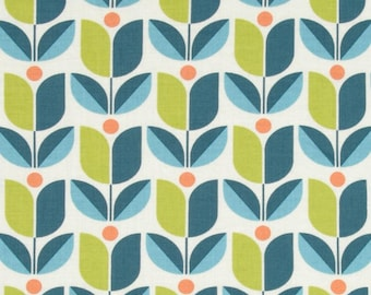 54035 - Joel Dewberry Flora Tulip in eucalyptus color - 1/2 yard