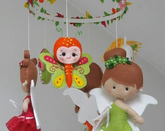 Little Fairies hanging mobile