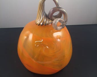 Hand Blown Glass Pumpkins