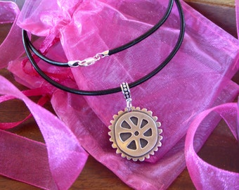 Cycling Citizens Classic Wheel Necklace