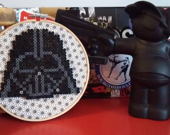 "Vintage decor... Star Wars... ""Darth Vader"" diameter 17 cm embroidery hoop."