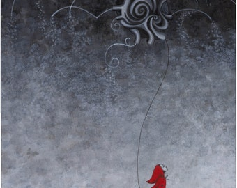Carried Away Red Riding Hood Giclee