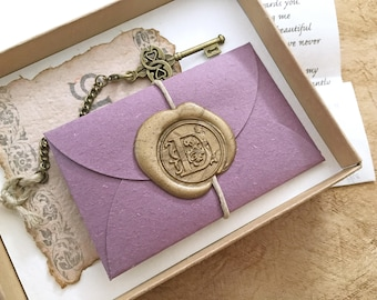 Personalized anniversary gifts for him and by paperjewelrydesign