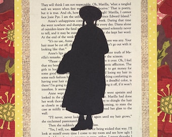 Anne of Green Gables Silhouette Print