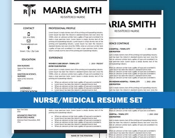 nurse resume template microsoft word