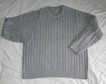 L.L. Bean knit sweater, large
