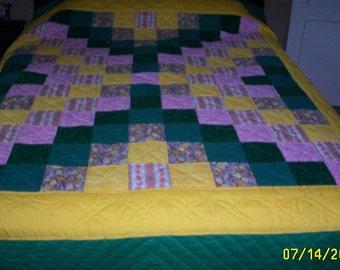 Queen size Bed Quilt- King's Cross