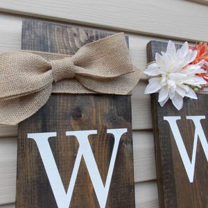 Large Wood Vertical Outdoor Welcome Sign | Front Door | Front Porch | Wood Welcome Sign | Fall Welcome Sign
