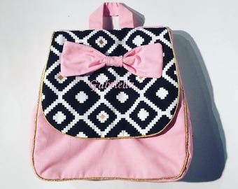 Backpack/nursery bag / nursery bag / baby bag / baby personalized bag. French manufacturing