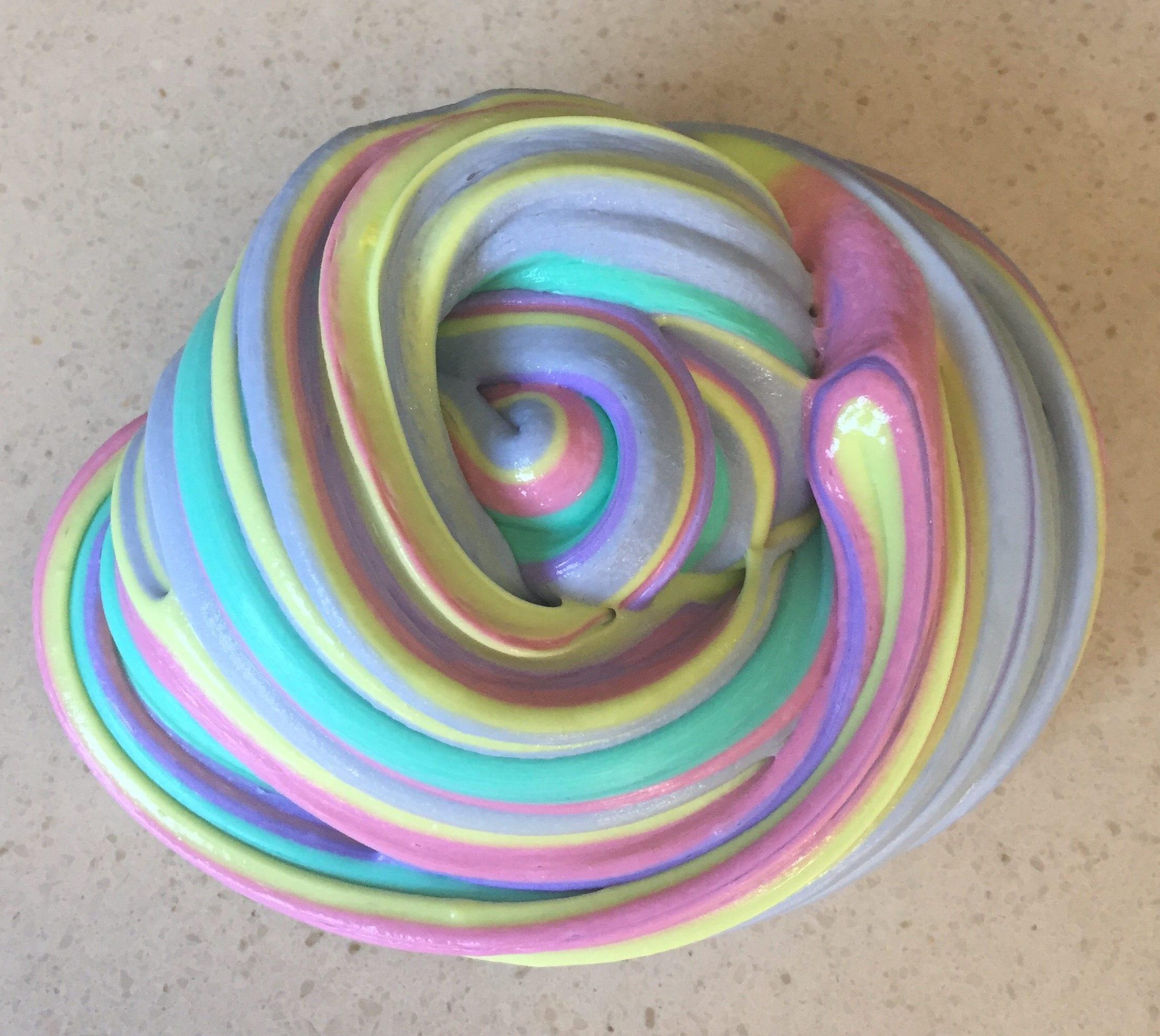 Squishy Bunny Slime Instagram : Huge 12oz Fluffy Instagram Rainbow Slime Squishy Sensory Play