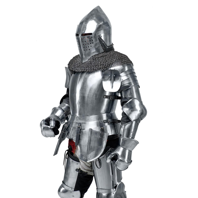 Medieval Knight\'s Armor Set SCA LARP steel armor fantasy