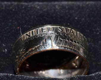 Half Dollar Coin Ring 1971
