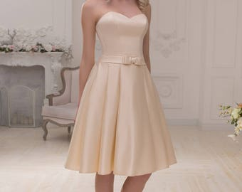 Wedding dress wedding dress bridal gown MONRO short dress short dress