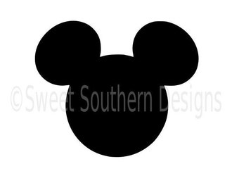 Mickey Mouse SVG instant download design for cricut or silhouette