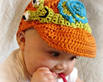 Cotton SunVisor pdf 737 Crcohet Pattern Infant to Adult Sizes to make