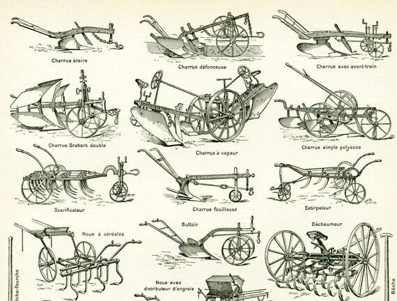 1897 materiel agricole ancien collection charrue semoir. Black Bedroom Furniture Sets. Home Design Ideas