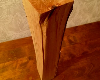 Piece of firewood rustic decor